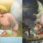 increibles imagenes de angeles protectores de niños