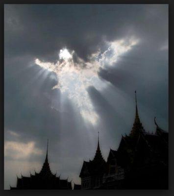 imagenes de dios en el cielo