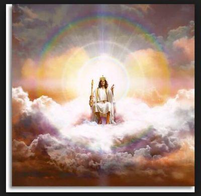 imágenes del cielo con dios